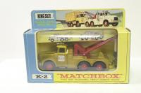 Picture Gallery for Matchbox K-2 SCAMMEL WRECK TRUCK