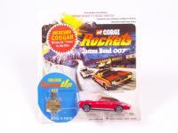 Corgi Rockets James Bond Alpine Ski Set Vintage A4 Size Poster Sign Leaflet 1970