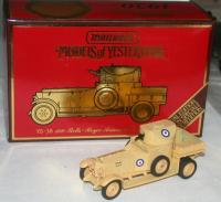 Picture Gallery for Matchbox Yesteryear YS38 Armoured Car