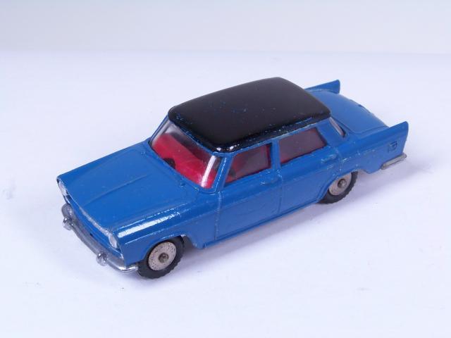 FIAT 124 BERLINA 1:43 Carabinieri // Police 29 1968 /_dark blue color