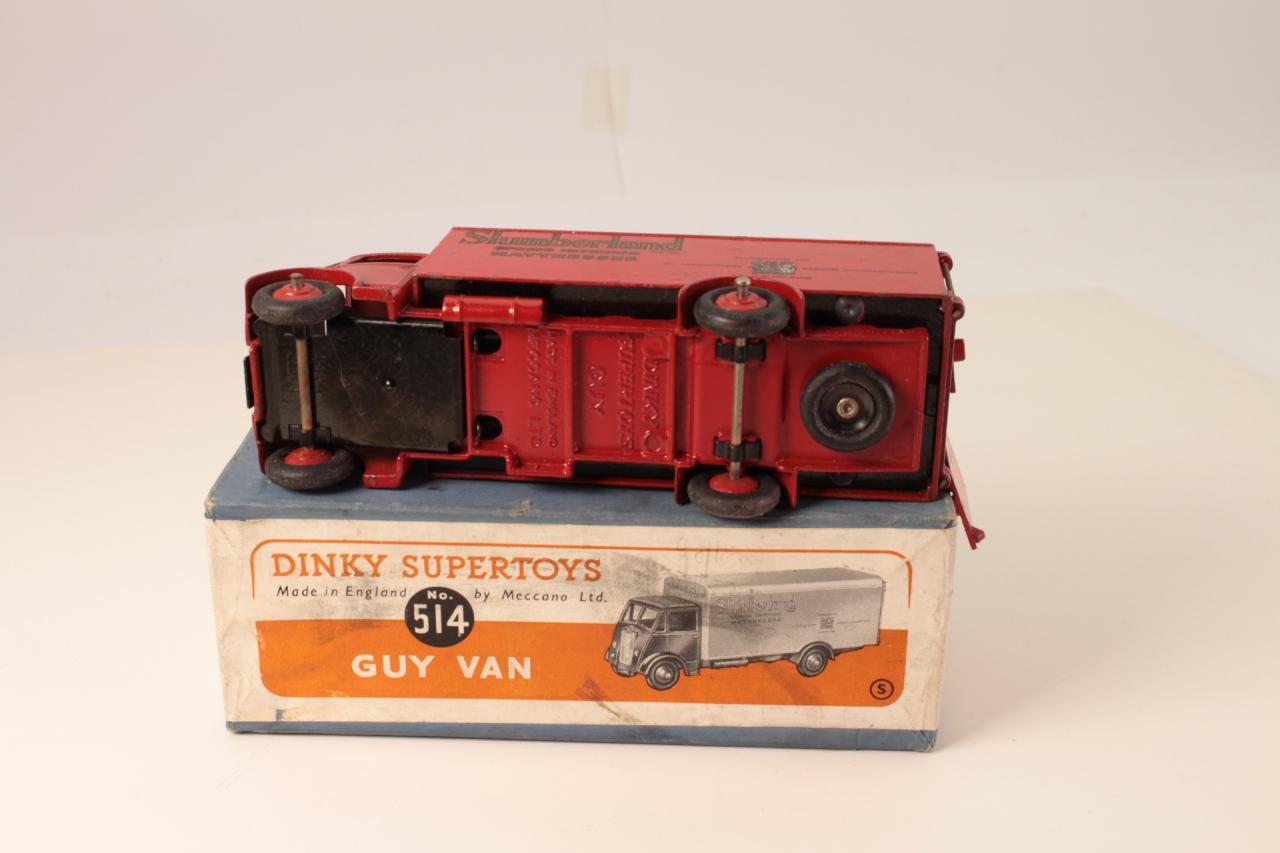Dinky #514 - Guy Van - Slumberland - Ridged Hubs