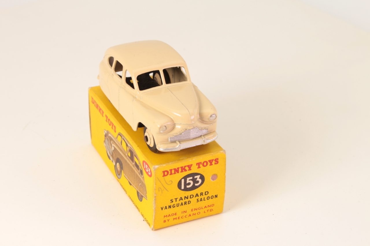 Dinky #153 - Standard Vanguard - Cream