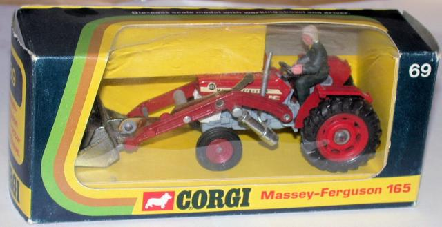 Picture Gallery for Corgi 69 Massey Ferguson 165 Tractor