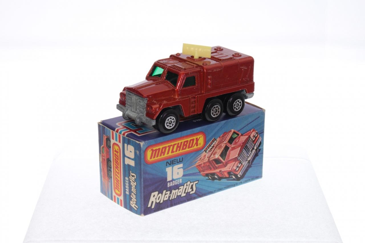 Matchbox #16e - Badger Truck - Bronze/Cream Radar