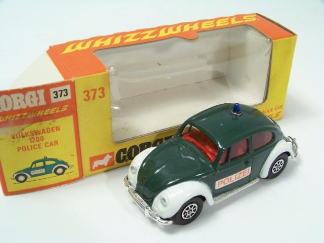 1:43 Atlas Police Cars Collection VW Beetle 1302 Police Belgium 1970