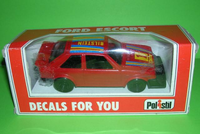 Picture Gallery for Polistil E2012 Ford Escort