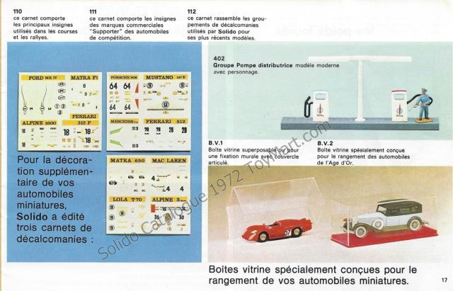 Picture Gallery for Solido BV1 Boite Vitrine