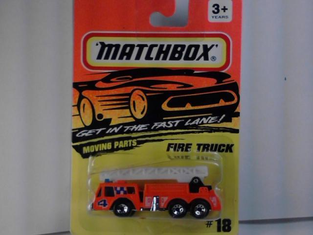 MATCHBOX YESTERYEAR  YFE 18   FIRE ENGINE Series   1950 Ford E83W Van /& Trailer