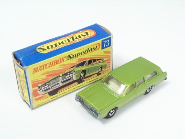 REPRO BOX MATCHBOX SUPERFAST n 39 1968 Mercury Cougar NUOVA BOX