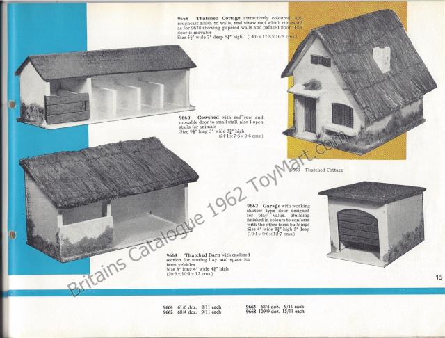 Picture Gallery for Britains 9660 Cowshed