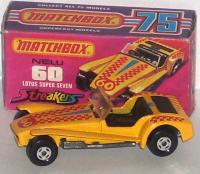 Picture Gallery for Matchbox 60c Lotus Super 7