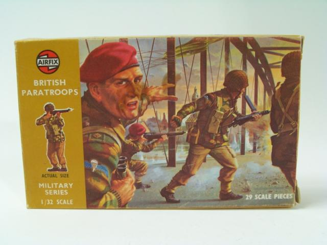 Picture Gallery for Airfix 1712 British Paratroopers