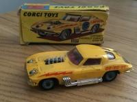 Corgi #337 - Chevrolet Stock car - Yellow