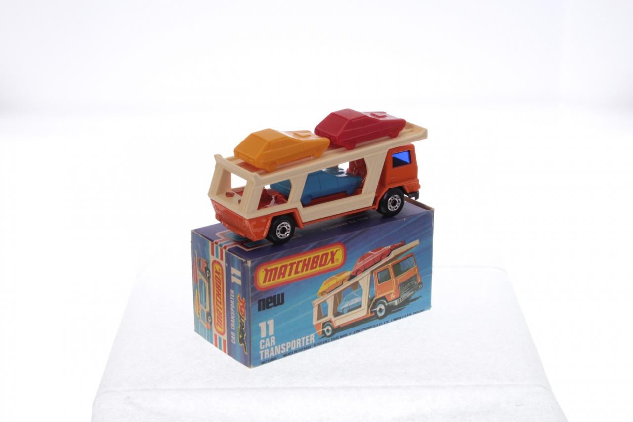 Matchbox #11f - Car Transporter - Orange