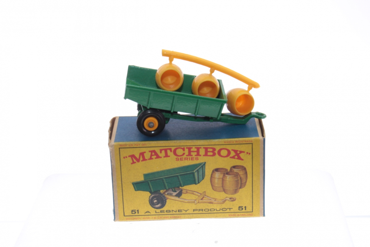 Bruder toys 02225 Krampe Tandem Axle Halfpipe Tipping Trailer Toy Model 1:16