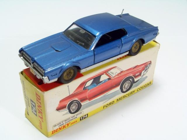 Picture Gallery for Dinky 174 Mercury Cougar