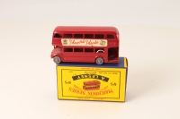 Matchbox #5c - Routemaster 66 Players - Red