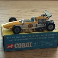 Corgi #159 - Cooper Maserati - Yellow/White