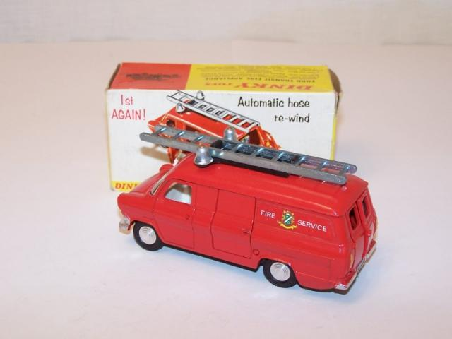 Dinky 286 Ford Transit Fire Appliance Repro R//H Right Hand 2 part Rear Door
