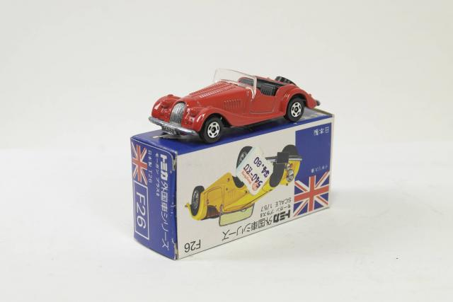 Picture Gallery for Tomica F26 Morgan Plus 8
