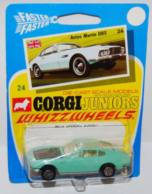 Picture Gallery for Corgi Juniors B24 Aston Martin DBS