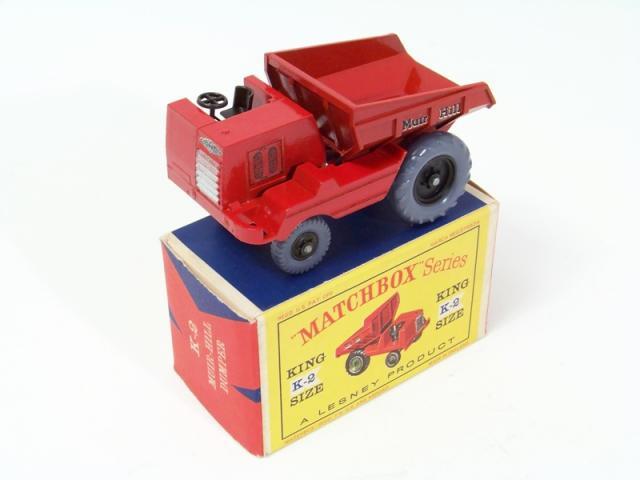 Picture Gallery for Matchbox K2 Muir Hill Dumper