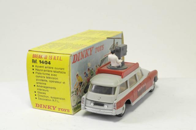 Die cast 1//24 Modellino Auto Citroen DS 19 1963