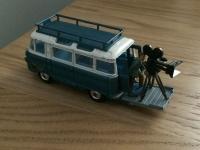 Corgi #479 - Commer Camera Van - Blue/White