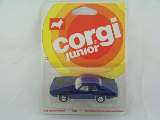 Corgi Juniors #72 - Jaguar XJS - Blue