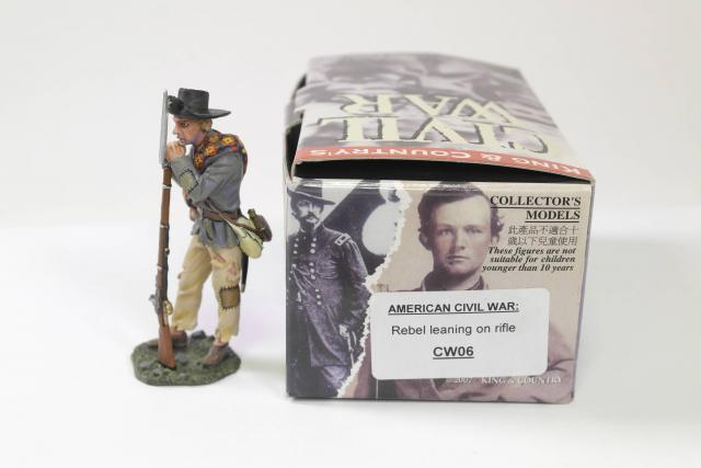 Picture Gallery for King  Country CW6 Rebel Leaning on Rifle