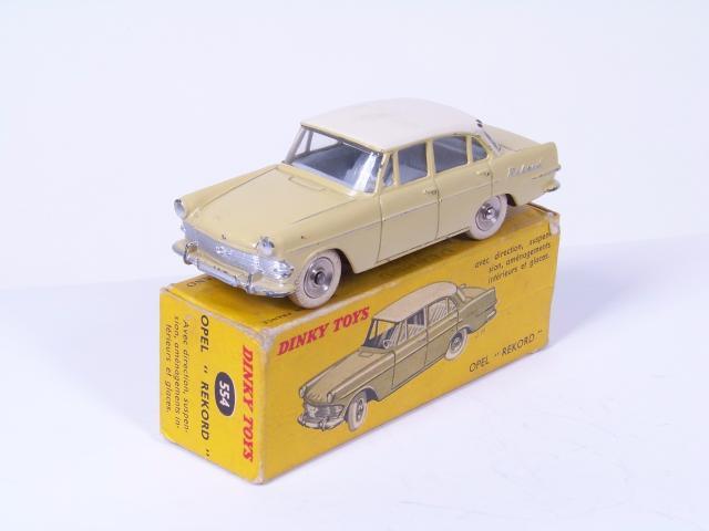1:43 Schuco Opel Rekord E Polizei Hamburg Nr 03425 OVP