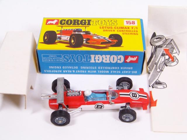 Picture Gallery for Corgi 158 Lotus Climax F1