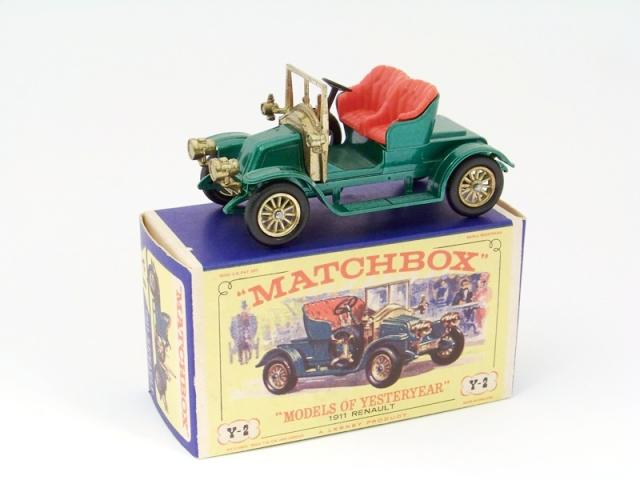 Picture Gallery for Matchbox Yesteryear Y2 1911 Renault