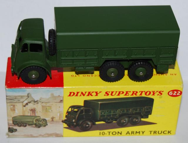 Picture Gallery for Dinky 622 10 Ton Army Truck