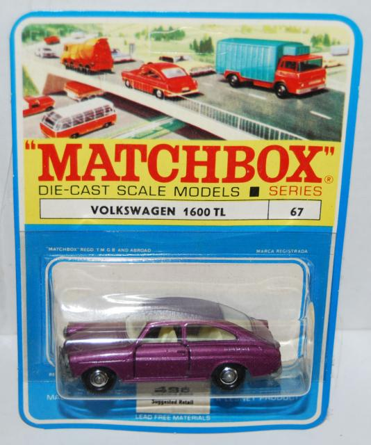 Picture Gallery for Matchbox 67b VW 1600 TL