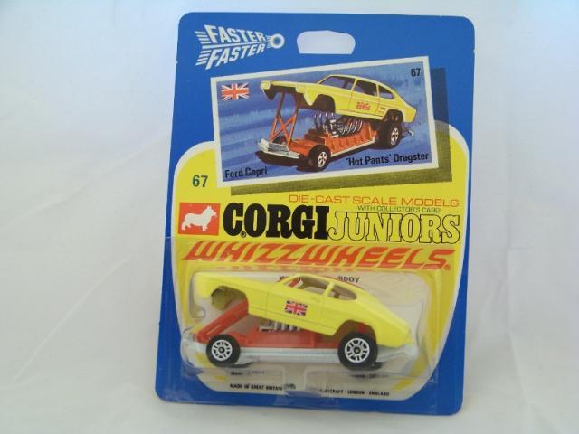 Corgi Juniors 67, Ford Capri Dragster - Free Price Guide