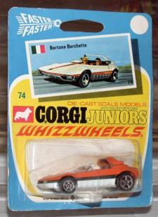 Picture Gallery for Corgi Juniors 74 Bertone Barchetta