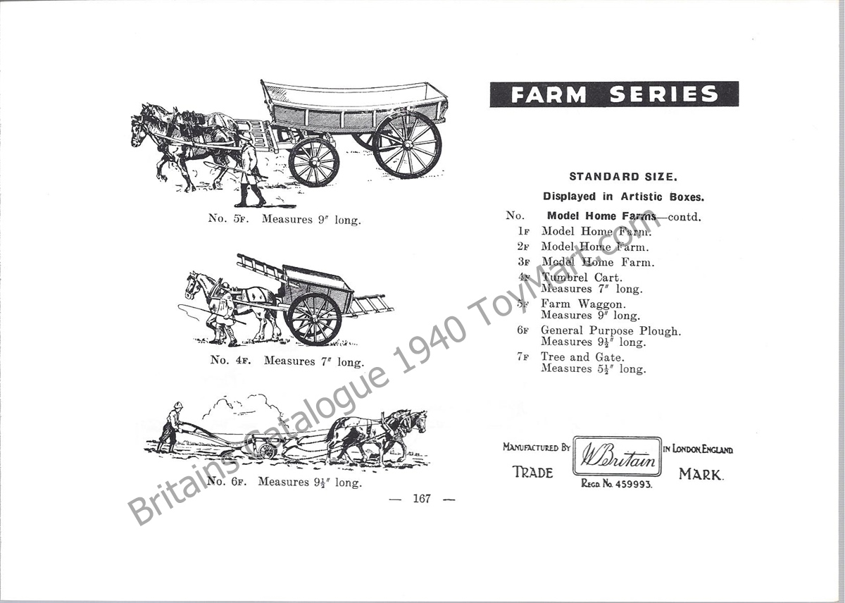 Picture Gallery for Britains Farm 5F Farm Waggon