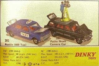 Fiat 2300 Pathe News Camera Car