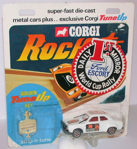 Picture Gallery for Corgi Rockets 927 Ford Escort Rally Car