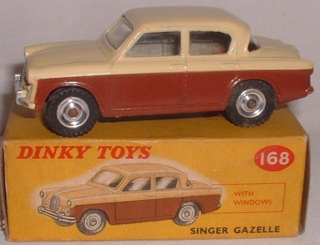 Picture Gallery for Dinky 168 Singer Gazelle