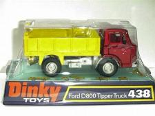 Picture Gallery for Dinky 438 Ford D800 Tipper Truck