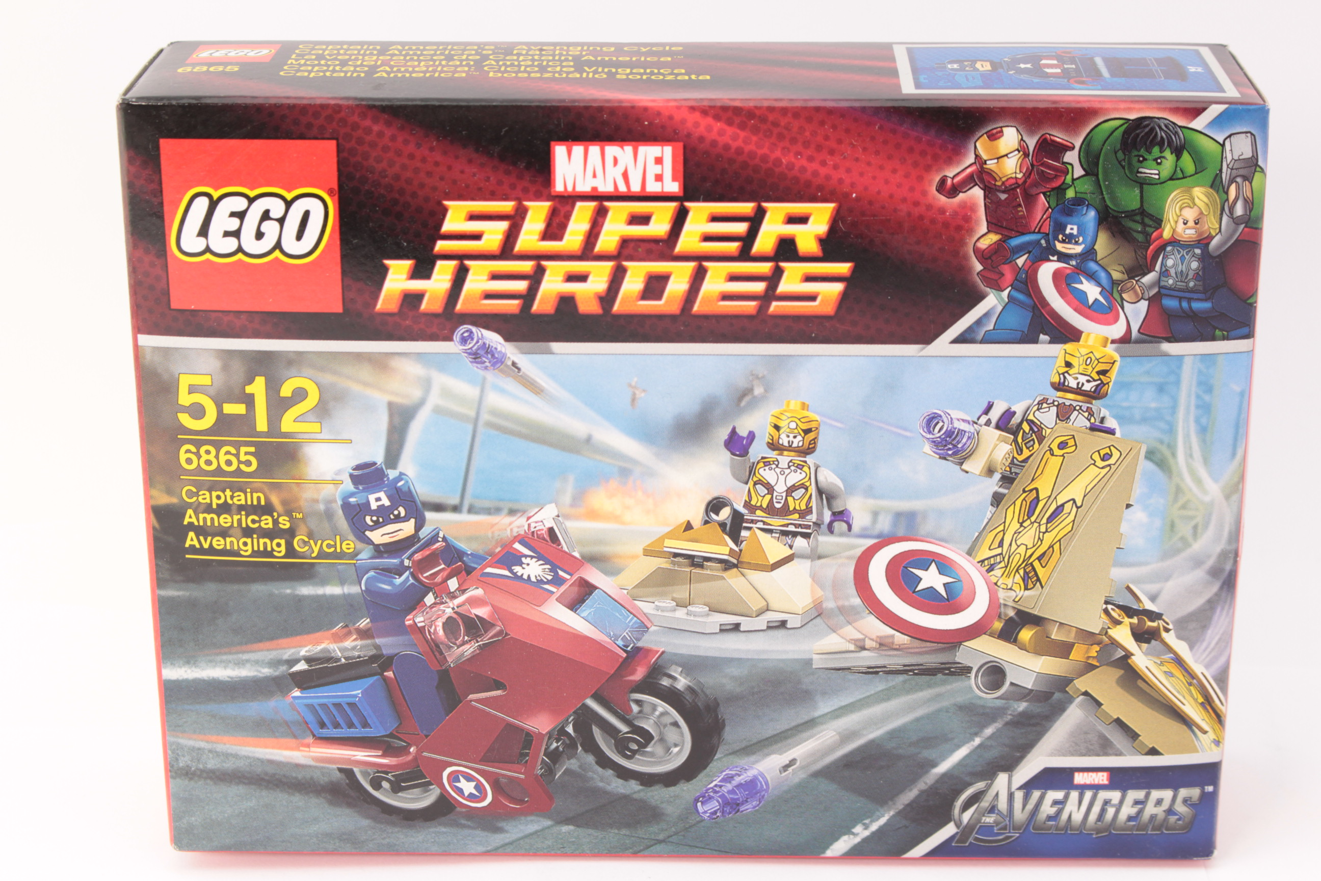 Picture Gallery for Lego 6865 Avenging Cycle