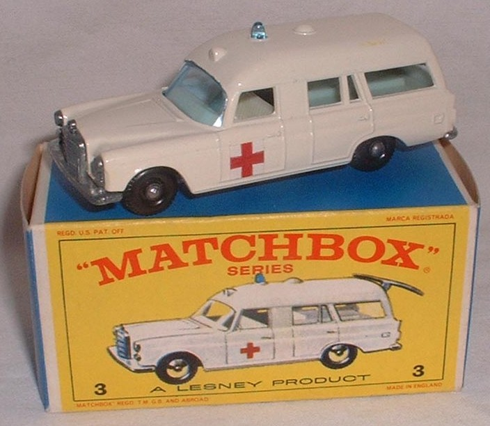 Picture Gallery for Matchbox 3c Mercedes Ambulance