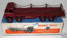 Picture Gallery for Dinky 505 Foden Flat Truck With Chains 1st type