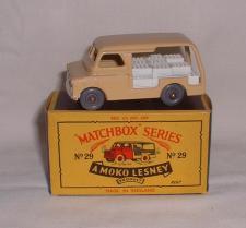 Bedford Delivery Milk Van