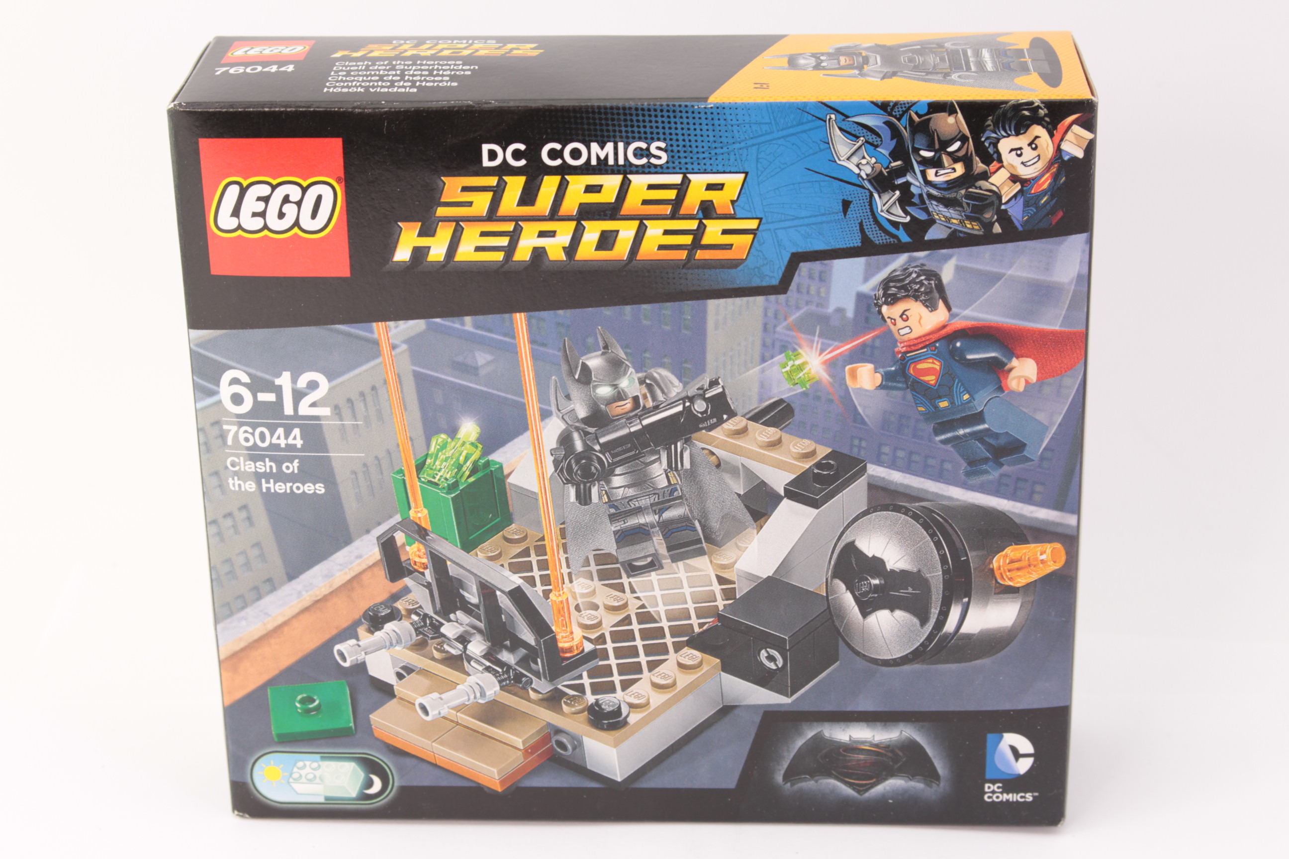 NEW LEGO DC COMICS SUPER HEROES 76044 CLASH OF THE HEROES FREE SHIPPING