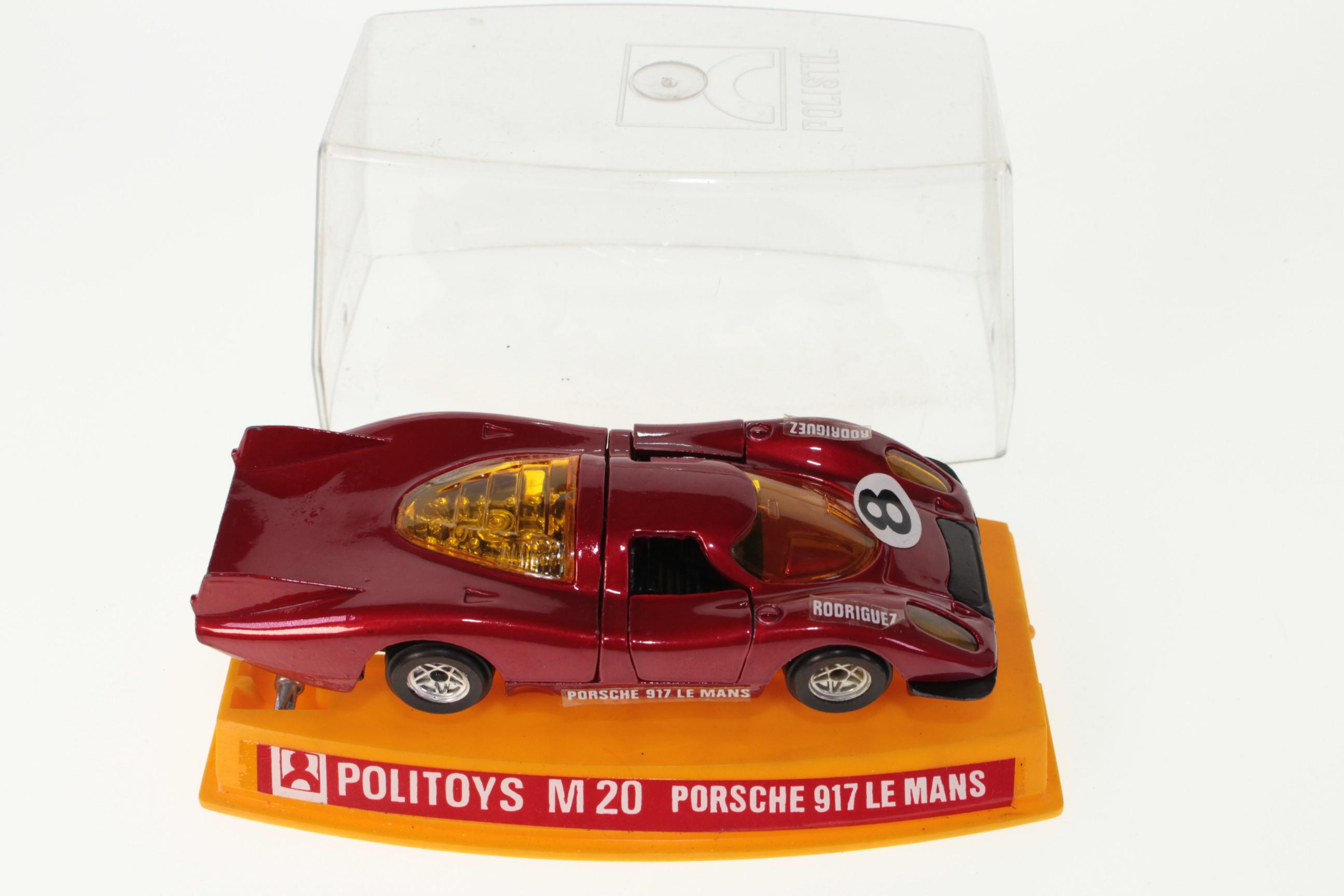 Picture Gallery for Politoys M20 Porsche 917 Le Mans