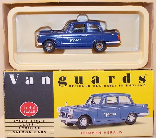 Picture Gallery for Vanguards VA5006 Triumph Herald