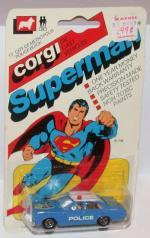Superman Metropolis Police Car